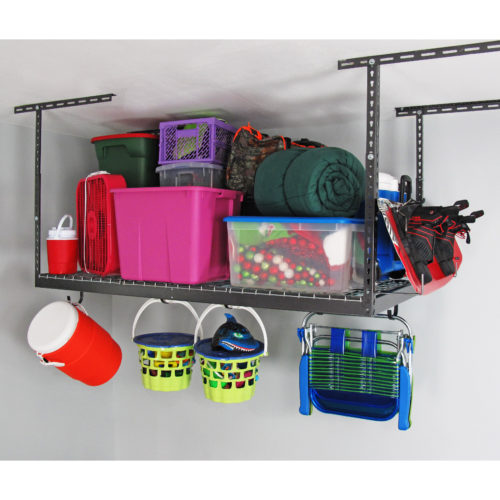 3' x 6' Overhead Storage Rack0054