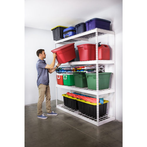 Garage Shelving 24D x 72W x 84T0139